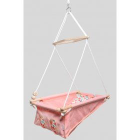 Incababy Babyswing with patterned cushion